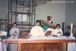 Padre Jorge, Seminarista Luiz e Ministra Dona Helena